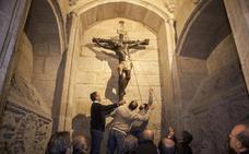 El Cristo Negro celebra la Exaltación de la Cruz