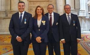 Condecoran con la Orden del Mérito Civil a cuatro extremeños