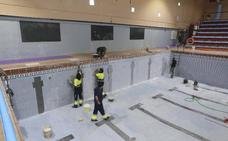 La piscina climatizada de La Argentina se mantiene cerrada por obras