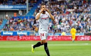 Jordán pone líder al Sevilla