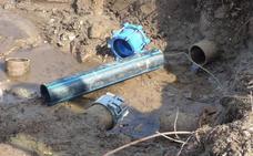La rotura de una tubería deja sin agua a buena parte de Navalmoral