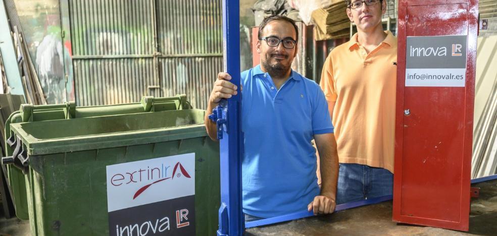 Dos ingenieros patentan el contenedor antiincendios