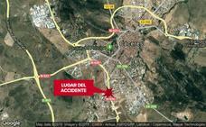 Un niño y dos mujeres resultan heridas en un choque frontolateral entre dos turismos en Cáceres