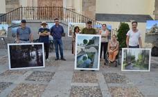 El cacereño Federico Plasencia gana el concurso de pintura al aire libre, muy participativo y de gran nivel