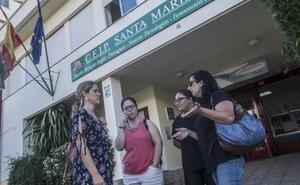 Educación asegura que el colegio Santa Marina tiene suficientes cuidadores