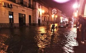 Una fuerte tormenta causa incidentes en Trujillo