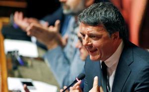 El Gobierno italiano tiembla con la escisión en la izquierda propiciada por Renzi