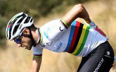 Valverde lidera a la selección en el Mundial en ruta