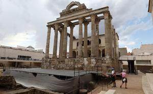 El Consorcio instalará en el Templo de Diana un nuevo escenario desmontable