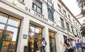 Fotografías de Robert Royal en el Instituto de Lenguas Modernas
