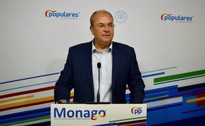 Monago: «Una nueva cita con las urnas representa el triunfo de la soberbia sobre la humildad»