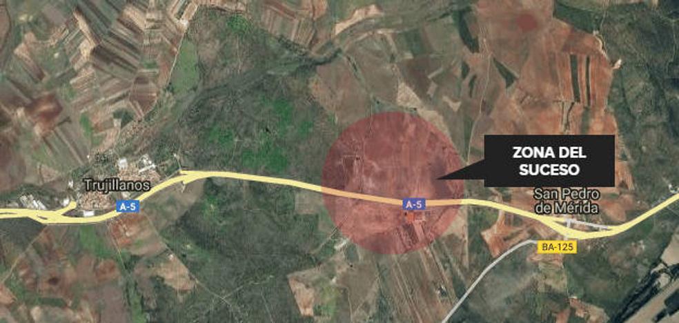 La Guardia Civil busca a un conductor que se saltó un control en el acceso a la A-5