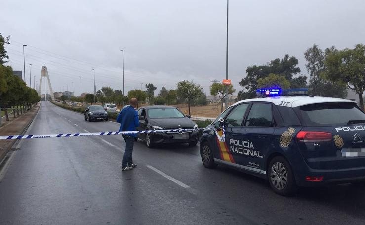 Tiroteo en el Puente Real de Badajoz