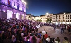 Extremadura respalda la protesta contra la violencia machista