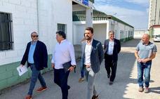 Redondo quiere hacer mejoras en el Mercado Regional de Ganados de Trujillo para que acoja otras actividades