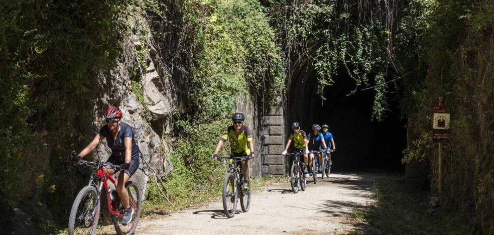 Primeros pasos para que la vía verde de Hervás llegue hasta la ciudad de Salamanca