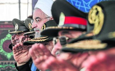 Irán quiere a EE UU fuera del Golfo