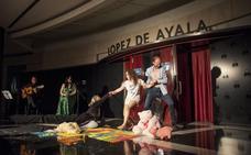 Recorrido por el López de Ayala contra la violencia de género