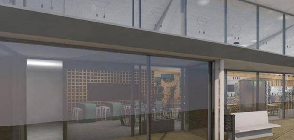 La cafetería bajo carpa del hospital de Cáceres logra la licencia y el SES quiere abrirla en 15 días