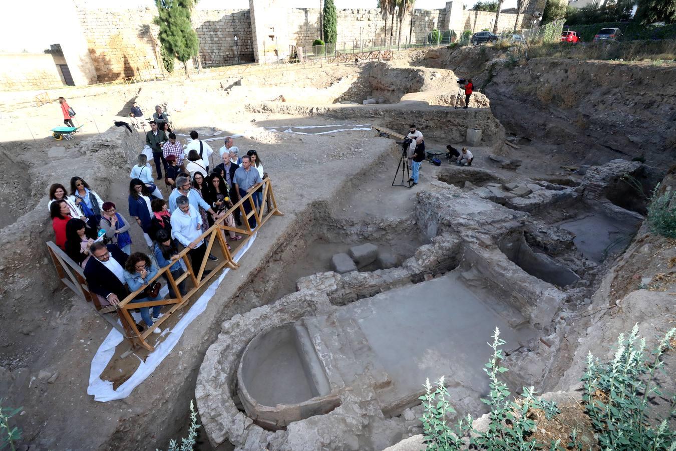 La Huerta de Otero de Mérida deja ver unas termas y varios mosaicos muy bien conservados