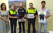 La Policía Local de Castuera recauda 1.743 euros para la lucha contra el cáncer infantil