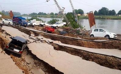 Sube a 30 la cifra de muertos y a 452 la de heridos por un terremoto en Pakistán