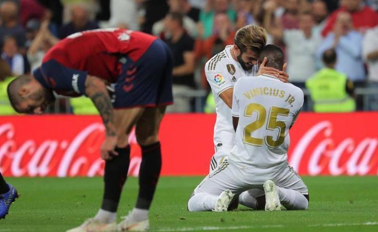 Las mejores imágenes del Real Madrid-Osasuna