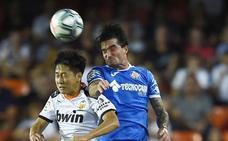Un irregular Valencia cede ante el Getafe un nuevo empate en Mestalla