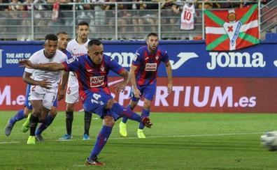 El Eibar deprime al Sevilla con una heroica remontada