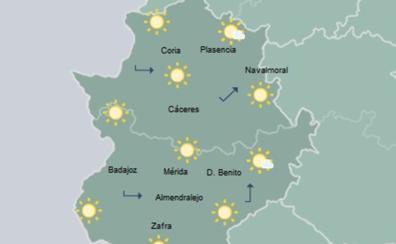 El 'veranillo de San Miguel' dejará este viernes máximas superiores a los 30 grados en Extremadura