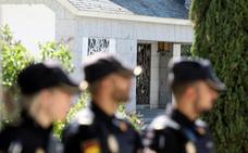 El Gobierno prevé aprobar la fecha de la exhumación de Franco el próximo viernes