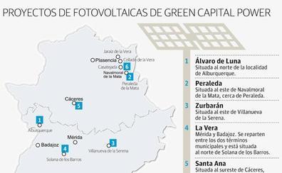 Una empresa plantea invertir 800 millones en seis plantas fotovoltaicas en Extremadura
