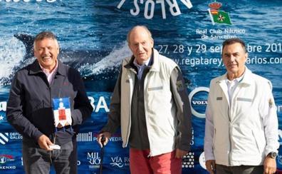 El rey Juan Carlos afirma sentirse «bárbaro» un mes después de su operación de corazón