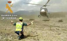 La Guardia Civil rescata a un senderista en el Valle del Jerte