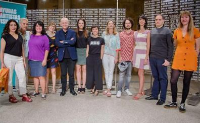 Presentados los diez proyectos que recibirán las ayudas de la Junta a artistas visuales