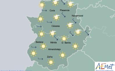La semana comienza con temperaturas de hasta 35º en Extremadura