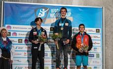 Primer podio internacional en categoría absoluta para el cacereño Alberto Ginés