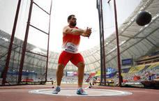 Cienfuegos se convierte en el primer español clasificado para la final de martillo de un mundial