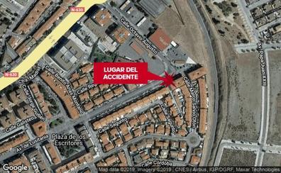 Tres personas, dos de ellas menores, resultan heridas al ser atropelladas en Mérida
