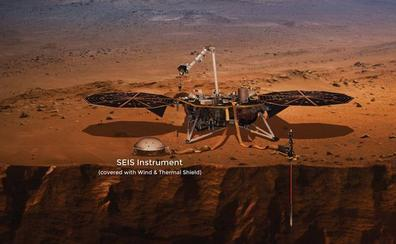 La NASA escucha los 'martemotos'