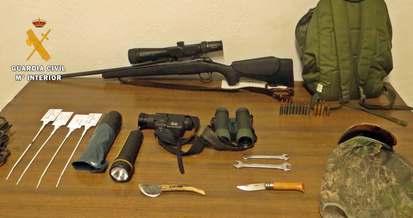La Guardia Civil investiga a un cazador furtivo de Jerez sorprendido en un coto privado
