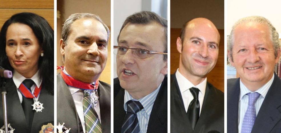 Cinco nombres para presidir el TSJEx