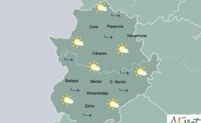 Cielo despejado y temperaturas en ligero descenso o sin cambios para este viernes