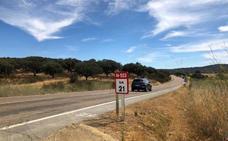 Fomento iniciará el próximo lunes las obras de mejora del firme de la carretera Badajoz-Cáceres