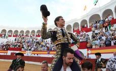 Ginés Marín indulta a un bravo toro de Zalduendo en Zafra