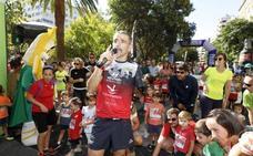 700 corredores responden a la llamada de Kini Carrasco en Cáceres
