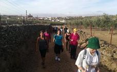 Adicomt continúa con las rutas por los caminos de peregrinación