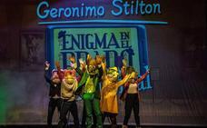 El Alkázar acoge el espectáculo infantil 'Gerónimo Stilton, enigma en el Prado'