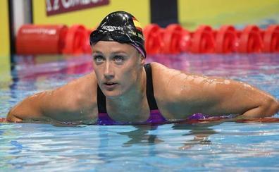 Mireia Belmonte se cuelga el oro en los 800 libre
