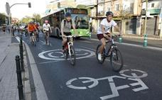 Una nueva quedada ciclista da pautas para moverse a dos ruedas por Cáceres